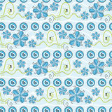 Flower pattern seamless background Stock Photography