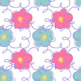 Flower pattern seamless Royalty Free Stock Photography