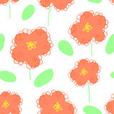 Flower pattern seamless Stock Photography