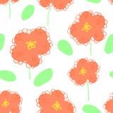 Flower pattern seamless Stock Photography