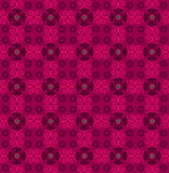Flower pattern seamless texture. On pink background Stock Photos