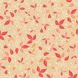 flower pattern seamless vector Royaltyfria Bilder