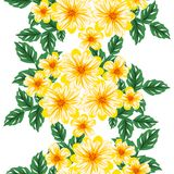 flower pattern seamless vector Fotografering för Bildbyråer