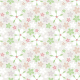 flower pattern seamless vector Arkivfoto