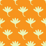 Flower pattern seamless. Flower seamless pattern. vector background Royalty Free Stock Image