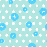 Flower pattern seamless. Flower seamless pattern. vector background Stock Photo