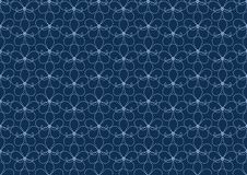Flower pattern seamless wallpaper vector royalty free illustration
