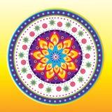 Flower pattern set Royalty Free Stock Image