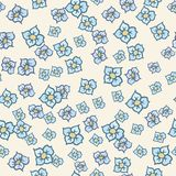 Flower Pattern 001 Stock Photography