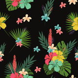 Flower pattern, tablecloth background Royalty Free Stock Images