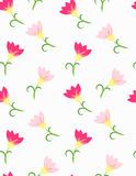Flower pattern tender flowers. Flower pattern tender pink flowers Stock Photo