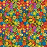 Flower pattern tile Stock Photo