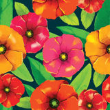 Flower pattern. For using in different spheres Stock Image