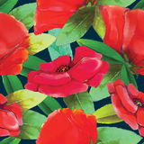 Flower pattern. For using in different spheres Royalty Free Stock Photo