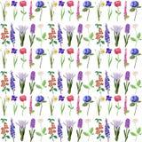 Flower pattern vector illustration Stock Image