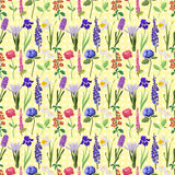 Flower pattern vector illustration Royalty Free Stock Photos