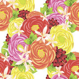 Flower pattern Royalty Free Stock Photos