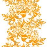 Flower pattern stock illustration