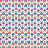 Flower patterned background Royalty Free Stock Photos