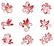 Flower patterns Royalty Free Stock Photo