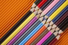 flower pencils power 库存图片