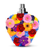 Flower perfume Stock Image