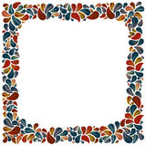 Flower petal frame. Stock Photography