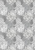 Flower Petal Pieces Growing Pattern_eps. Illustration of hand drawing flower petal pieces growing pattern with gray colors Royalty Free Stock Image