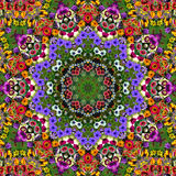 Flower Photo Quilt Stock Photos