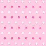 Flower pink background icon great for any use. Vector EPS10. Great vector Stock Photography