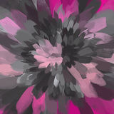 Flower pink and gray brush strokes background. Vector version Royalty Free Stock Photos