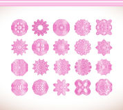 Flower pink mandala Stock Images