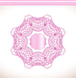 Flower pink mandala Royalty Free Stock Photos