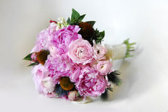 Flower pink set. Wedding romance Stock Images