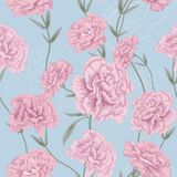 Flower pink style. This is the vector illustration of flower in seamless pattern Royalty Free Stock Photos