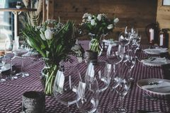 Flower, Plant, Floristry, Table Royalty Free Stock Image