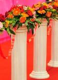 Flower posts Stock Photo