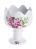 Flower pot. flower pot on a the background. Royalty Free Stock Photo