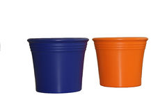Flower pots 2. This is ceramics pots for interior Royalty Free Stock Photo