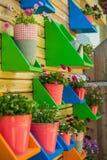Flower pots Royalty Free Stock Photos