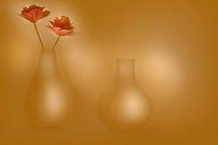 Flower Pots Illustration Stock Images