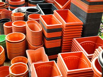 Free Flower Pots Piled Up For Sale Royalty Free Stock Photos - 66686918