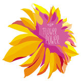 Flower power Images libres de droits