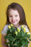 flower power Arkivfoto