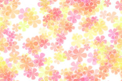 Flower Power background. Little pastel colored flowers Royalty Free Stock Images