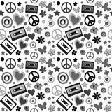 Flower power background Stock Photography