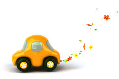 Flower power car Stock Photography