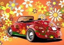 Flower power convertible stock photos