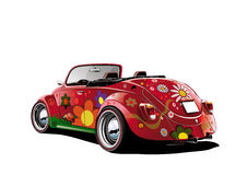 Flower power convertible Royalty Free Stock Photos