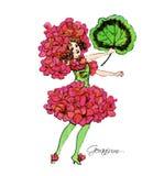 Flower-power-folket Royaltyfri Foto